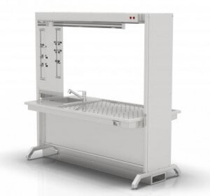 NEBROPATH N5-101 Grossing table dissecting bench